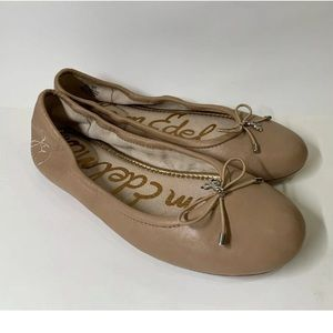 Sam Edelman Felicia Soft Leather Ballet Flats 6.5